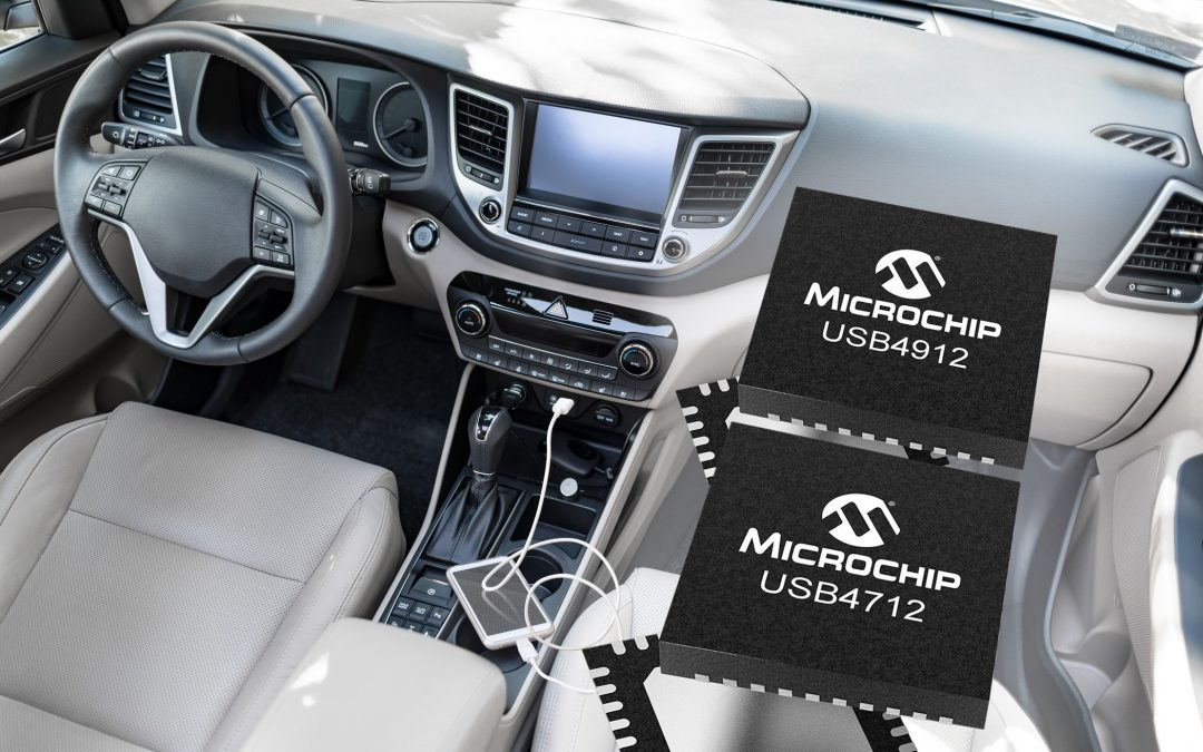 Single-Port USB Smart Hub ICs Optimize System Costs for Automotive Manufacturers