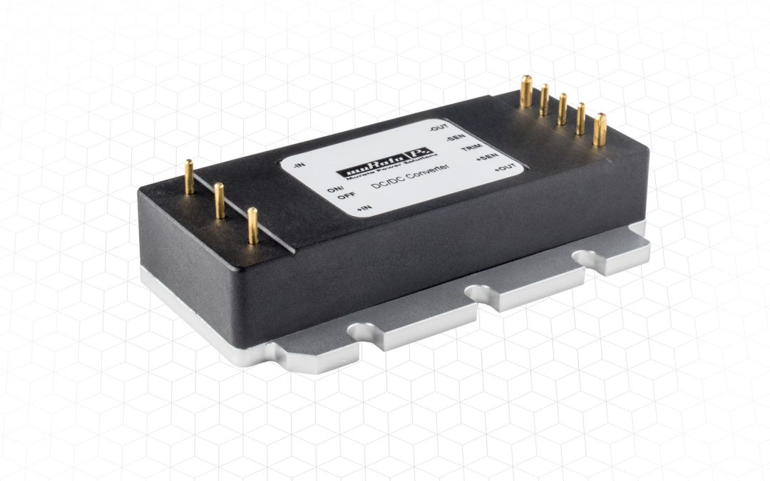 120W eighth brick DC-DC converters for railway and industrial