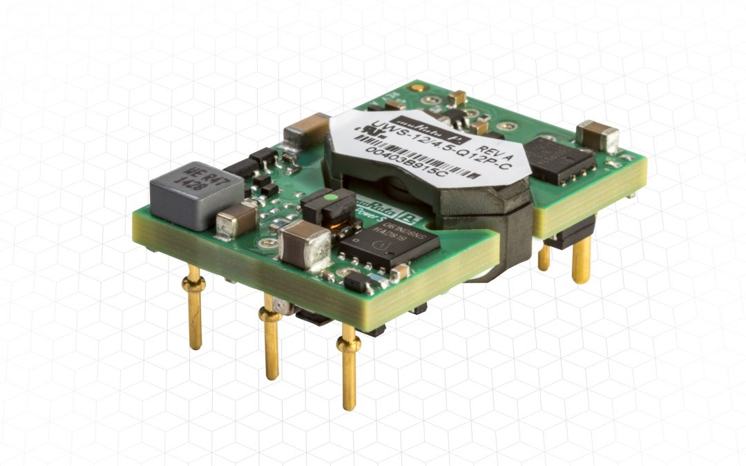 9-36Vdc Vin Range 1/16th brick DC-DC converter delivers high performance and class-leading I/O isolation